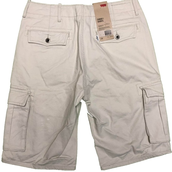 Levi's Other - NWT Levi Strauss Cargo Shorts 30 Relaxed Fit Beige